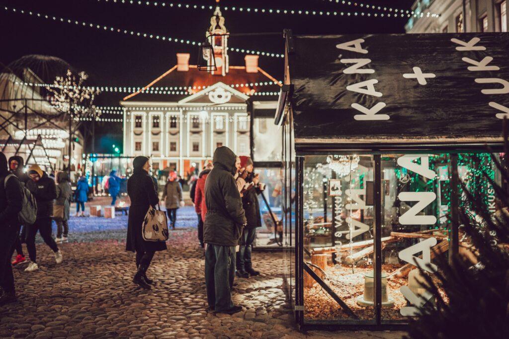 Jõulukanala 2020 Tartu   Foto: Mana Kaasik